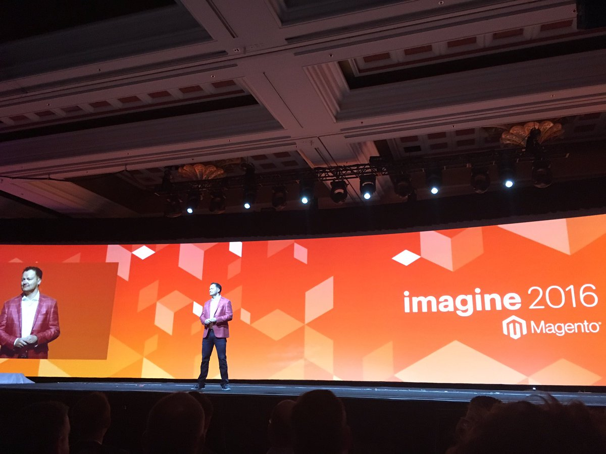 alexanderdamm: Let the Party started! #magentoimagine https://t.co/QXF9Q0XOCc