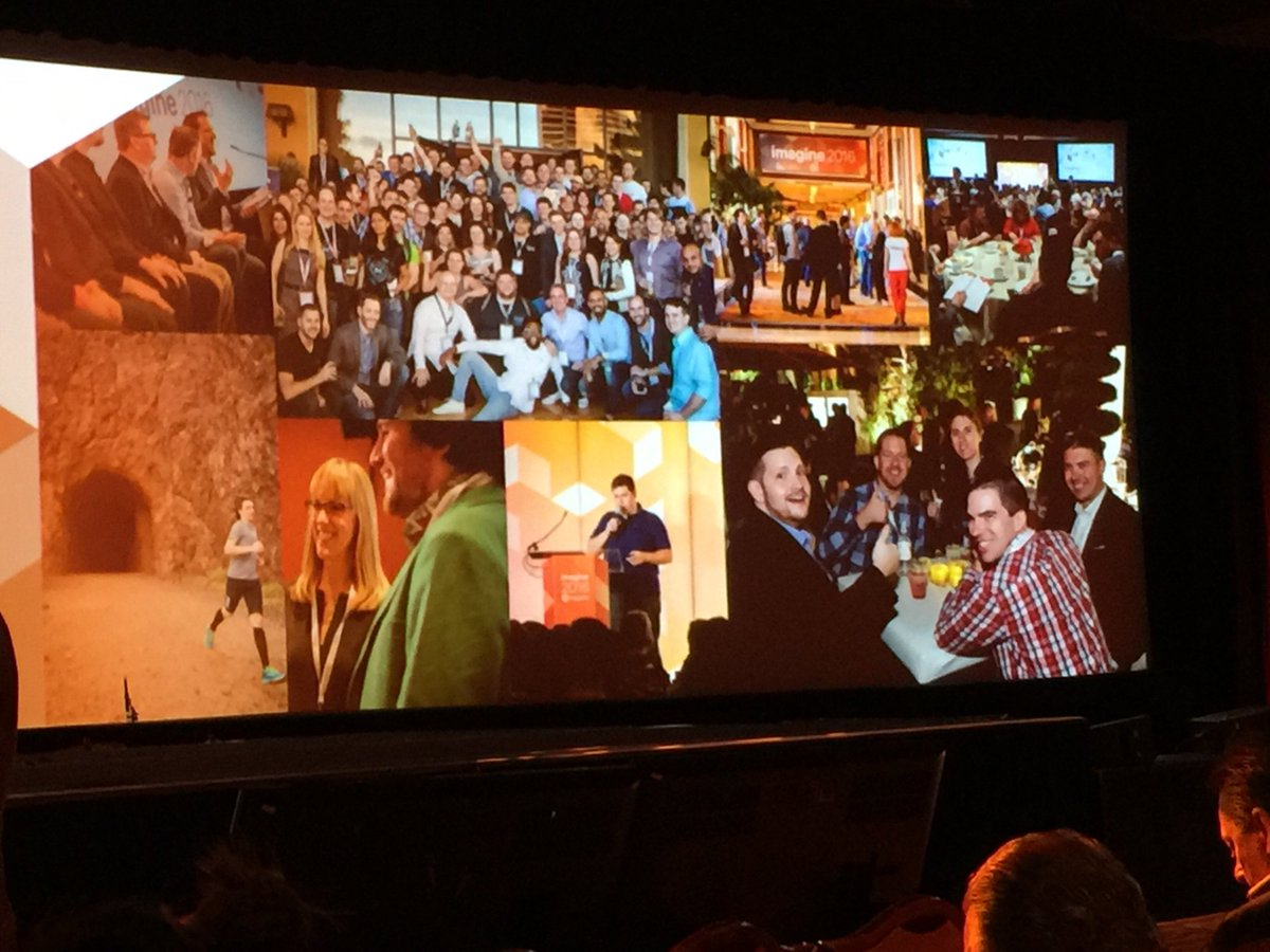 gaugeteam: #GaugeInteractive made the big screen at #Imagine2016 #Magento #MagentoImagine https://t.co/xy5JgGq0qt