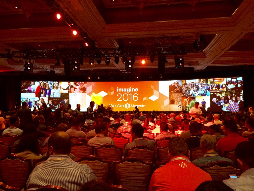 RichardGodwin: #MagentoImagine #Imagine2016 Keynote Session 1 #CogecoPeer1 https://t.co/vLno6KDKkg