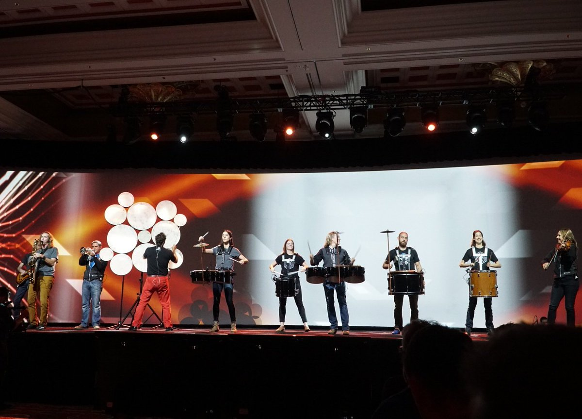 wejobes: @magento knows how to kick it off right #MagentoImagine https://t.co/mpfWp2JhZd