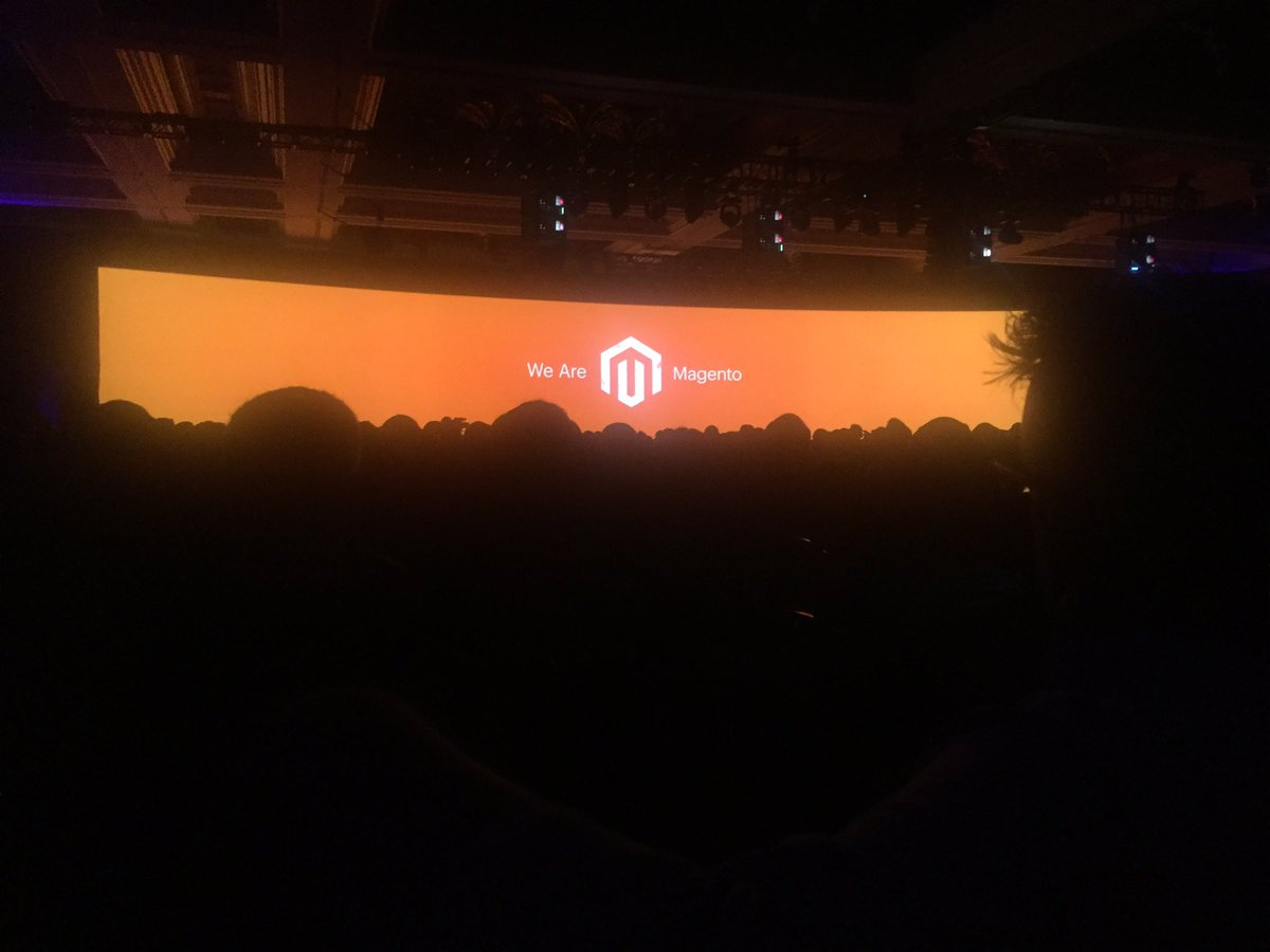 steph_k88: General session at #magentoimagine https://t.co/kDa1DR4MIh