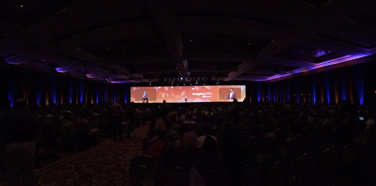 benjaminrobie: #MagentoImagine keynote https://t.co/a0GgwqGnGY