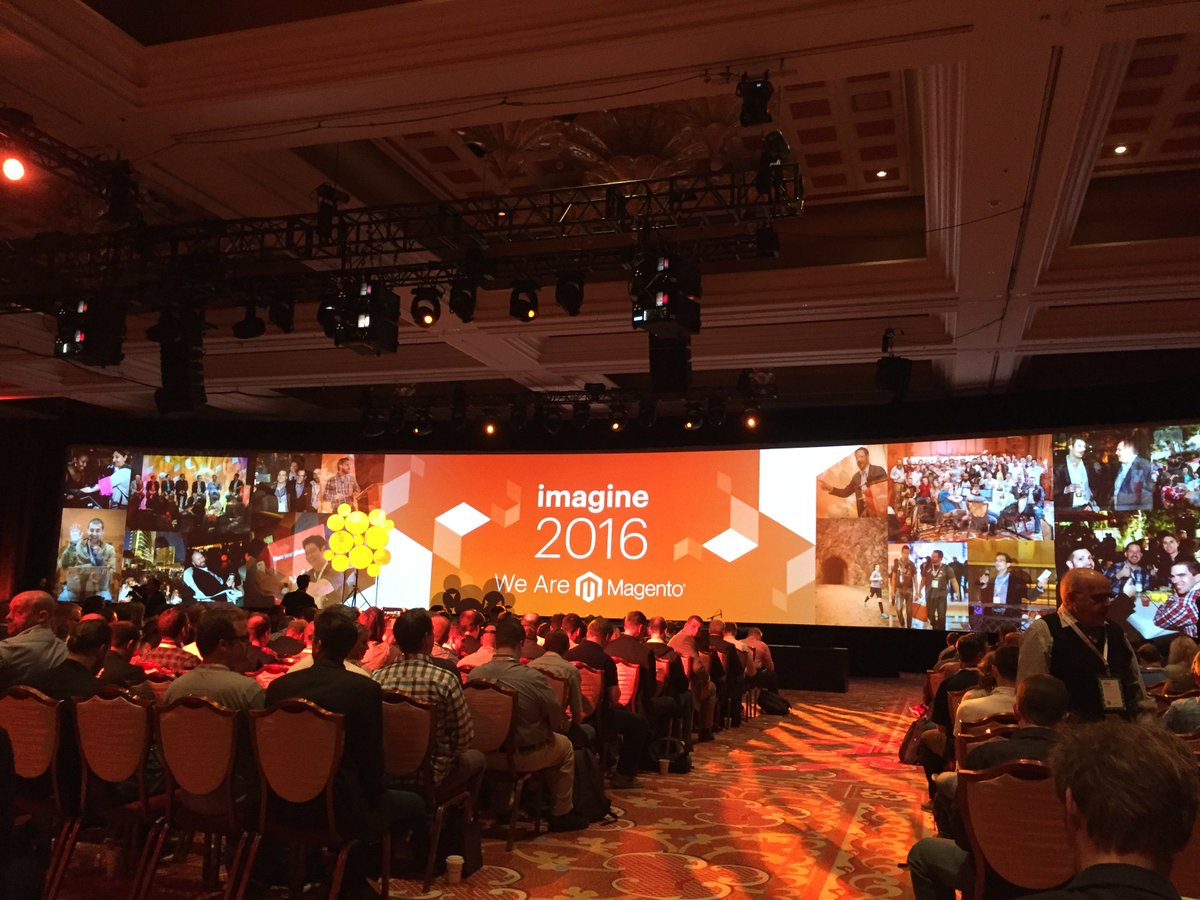 Listrak: General session with the one and only @MagicJohnson about to begin! #MagentoImagine https://t.co/fRPk3vWw4O