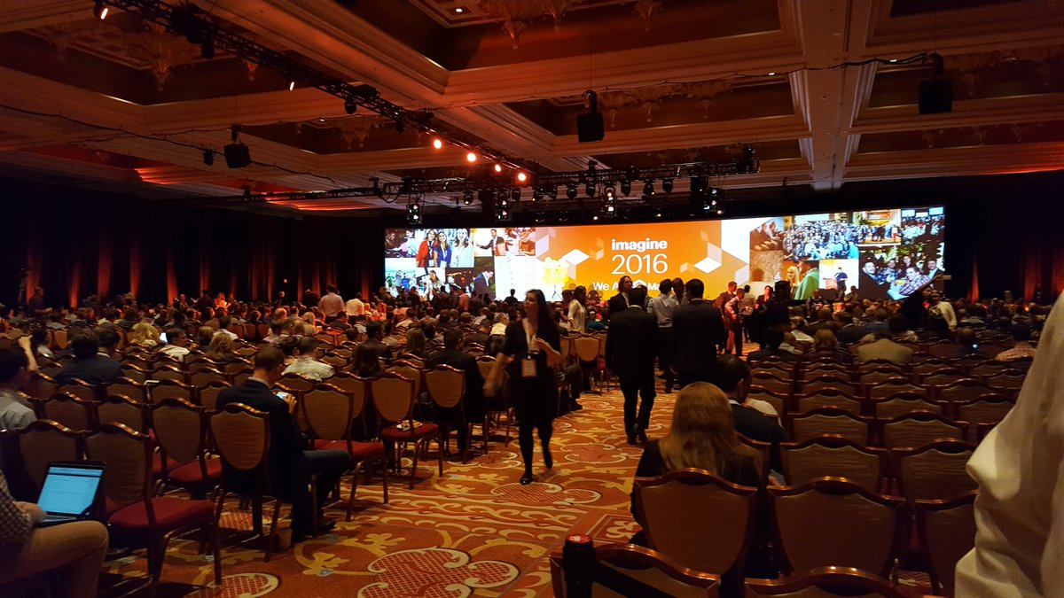 TweetsKath: #MagentoImagine 2016 has started! https://t.co/1WHmpOyQJg