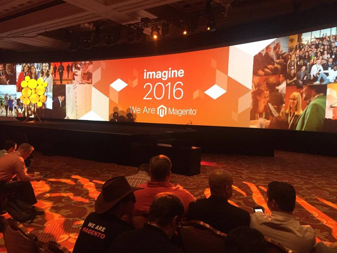 vaimoglobal: Here we go - the (very musical) official opening ceremony of Imagine 2016! #MagentoImagine #Vaimo #Imagine2016 https://t.co/CnjSXcgELH