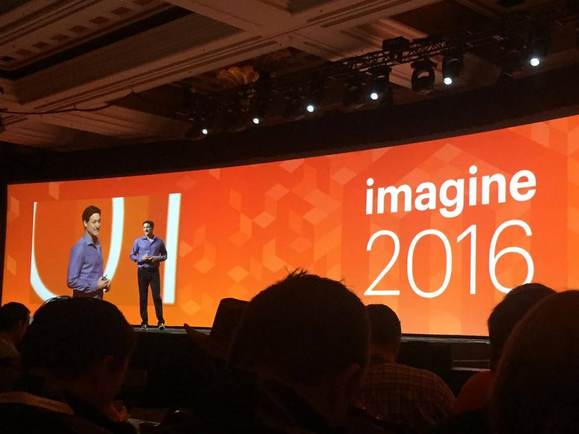 vaimoglobal: Mark Lavelle, CEO of Magento Commerce at Imagine opening @mklave1 #MagentoImagine #Vaimo #Imagine2016 #starstruck https://t.co/0raulv2i8M