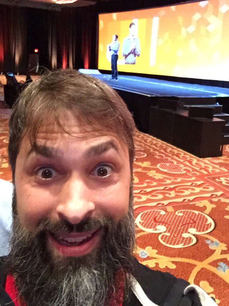 robertDouglass: At the @magento Keynote looking forward to some big announcements! #MagentoImagine https://t.co/9rB8WlEUzr