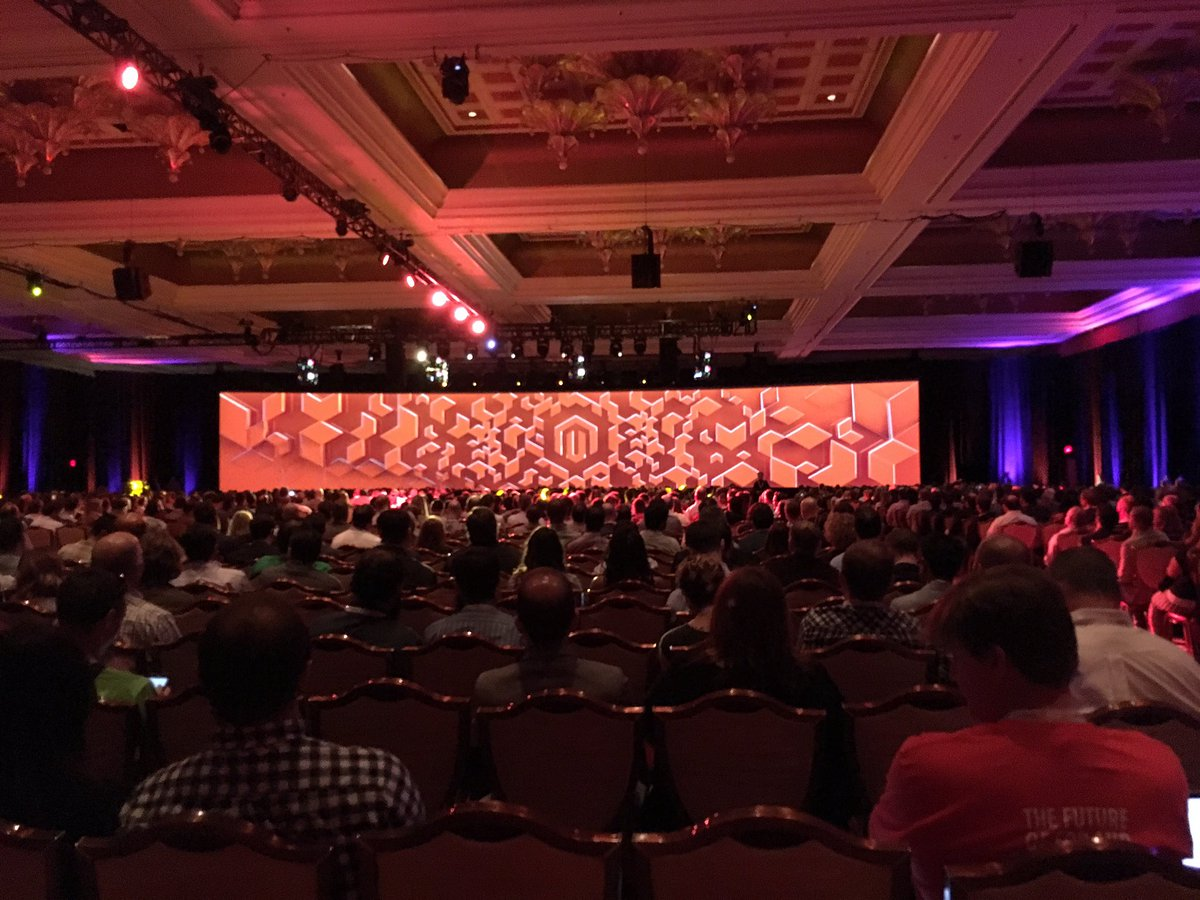 molme: @JC_Climbs 'we don't do the easy path. We are #Magento' #magentoimagine #keynote https://t.co/zb8qnqvNba