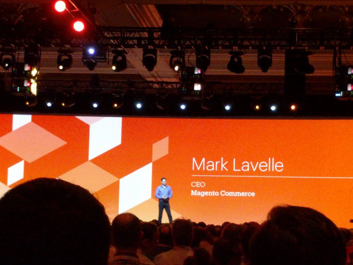 MIdreesButt: Magento's #CEO is our CEO because WE ARE MAGENTOnn#MagentoImagine https://t.co/K1dzfPQykX