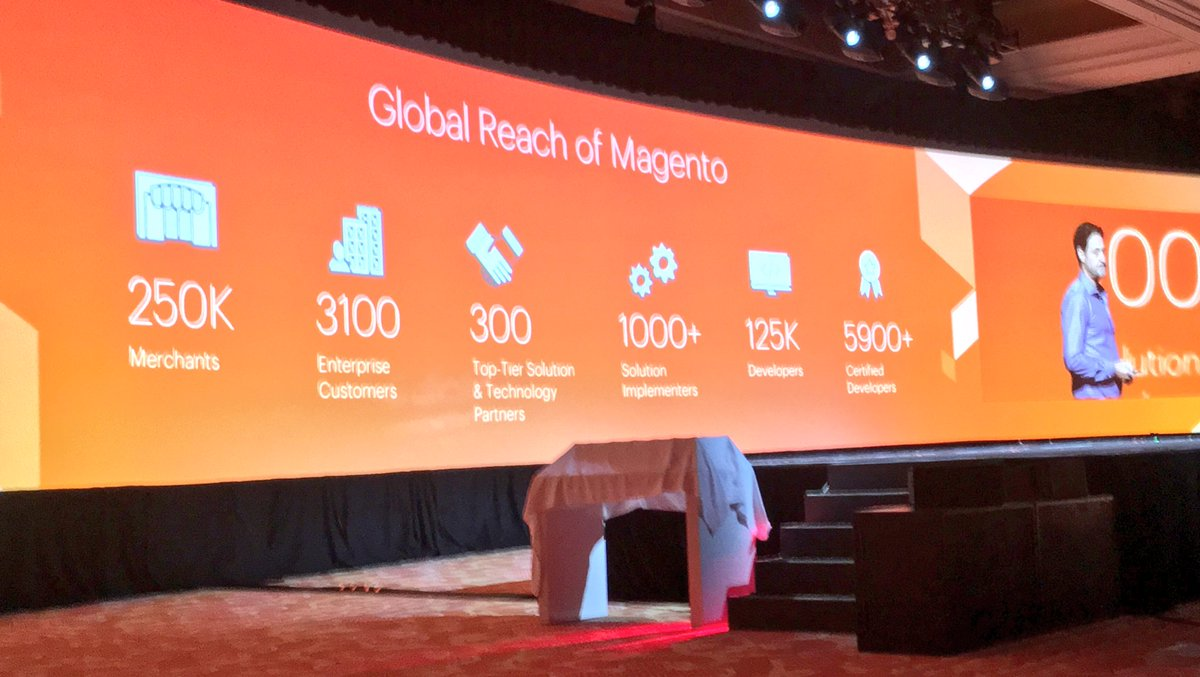 benmarks: 'Global Reach of Magento' nnDem stats, doe! #MagentoImagine https://t.co/7wcw6t91IS