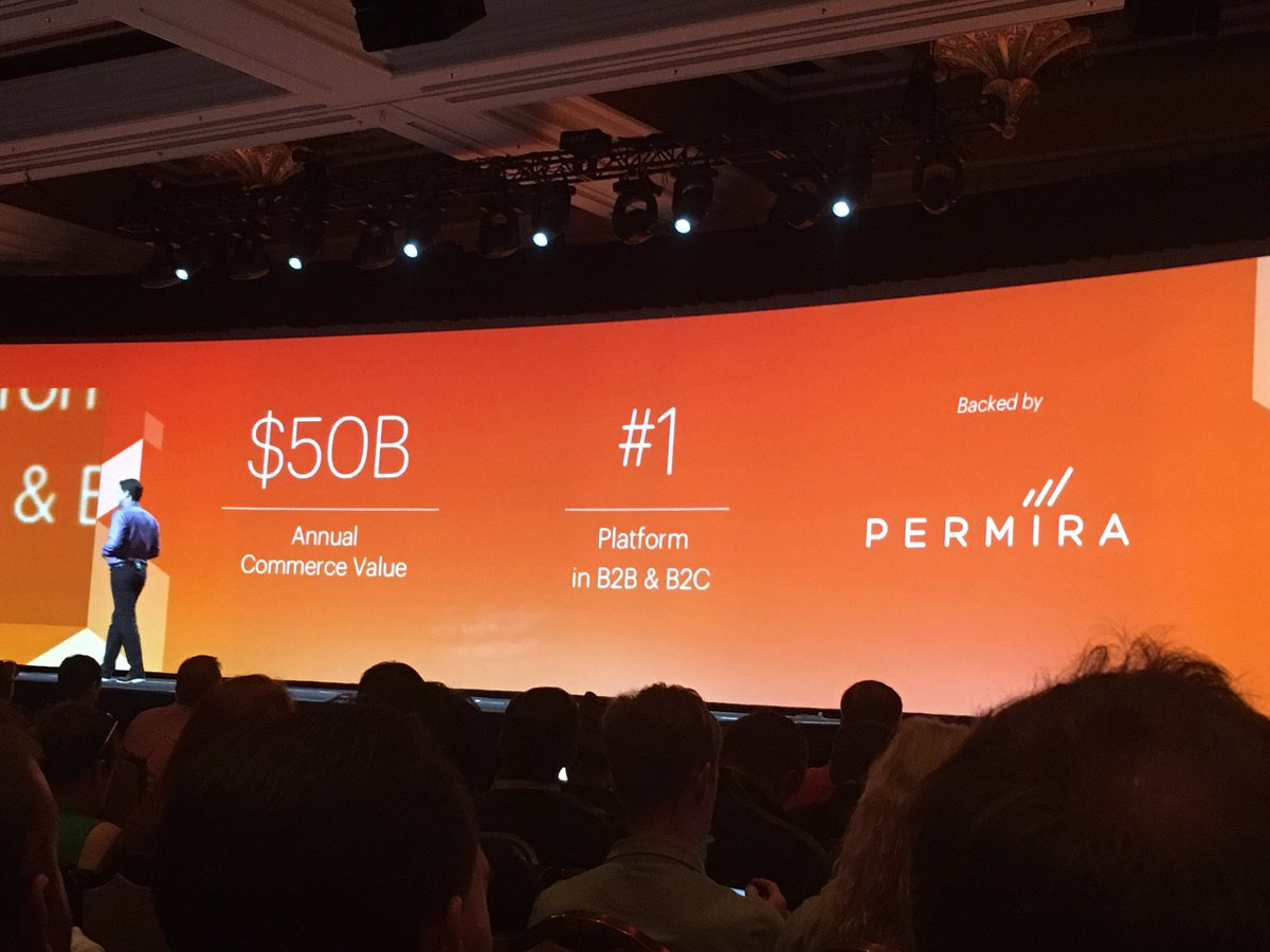 phoenix_medien: @magento is #1 platform in B2B & B2C #MagentoImagine https://t.co/HnBuSx73sQ