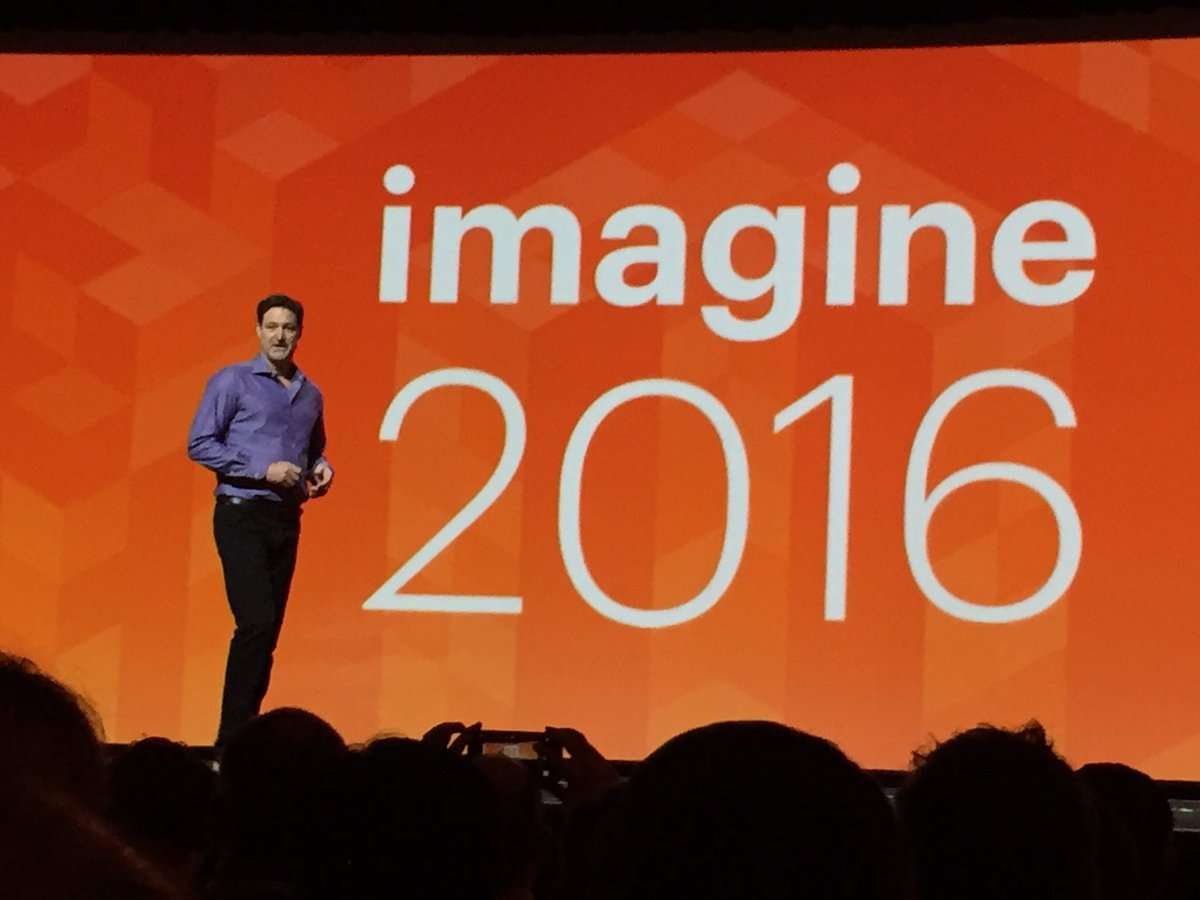 tinktaylor: .@mklave1 kicks of his keynote #MagentoImagine https://t.co/SlQ5gGrHQW
