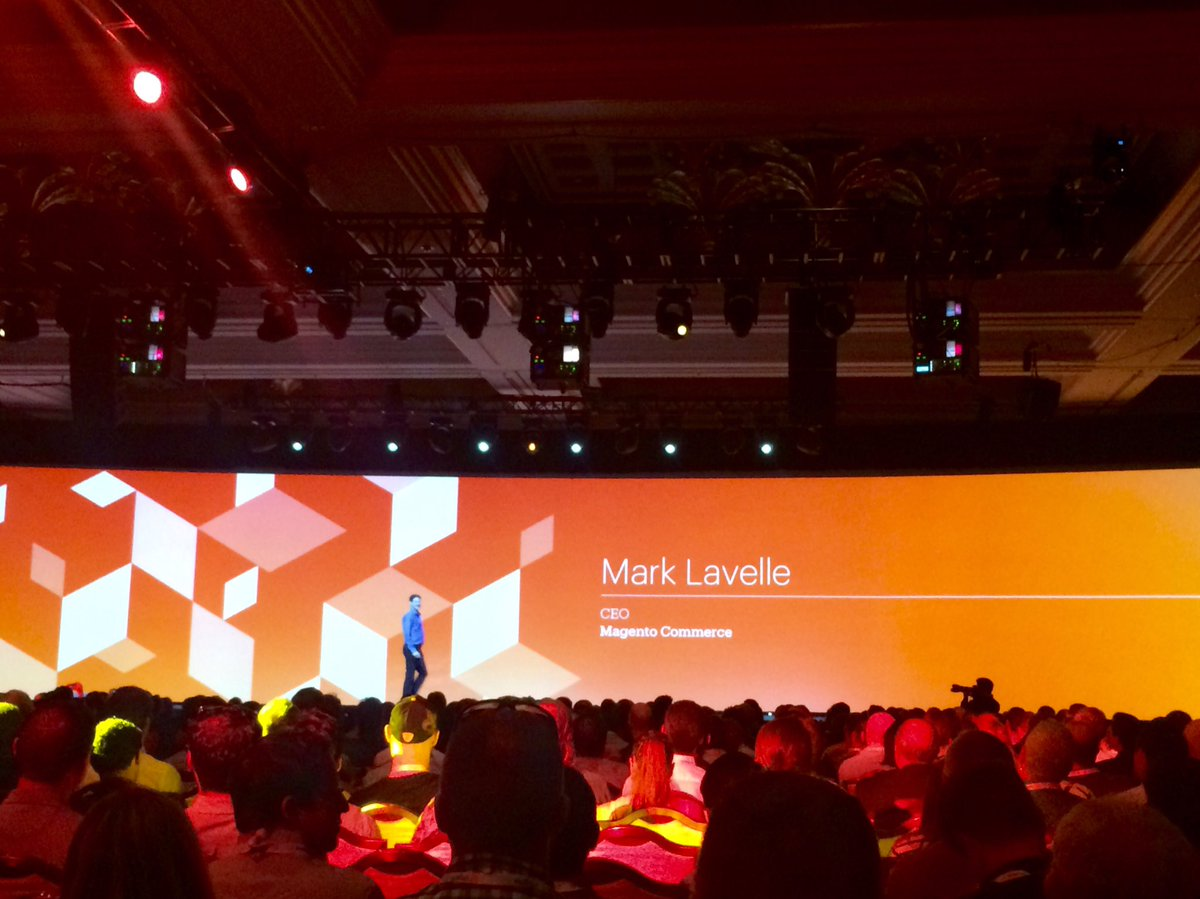 RichardGodwin: Great speakers at #MagentoImagine #Imagine2016 @mklave1 @JC_Climbs https://t.co/eK7rxfr9U4