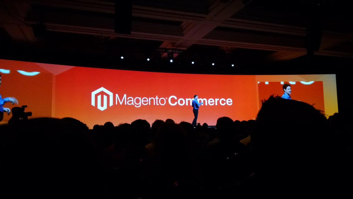 barbanet: Magento is back! #MagentoImagine https://t.co/CEMvV7eya6
