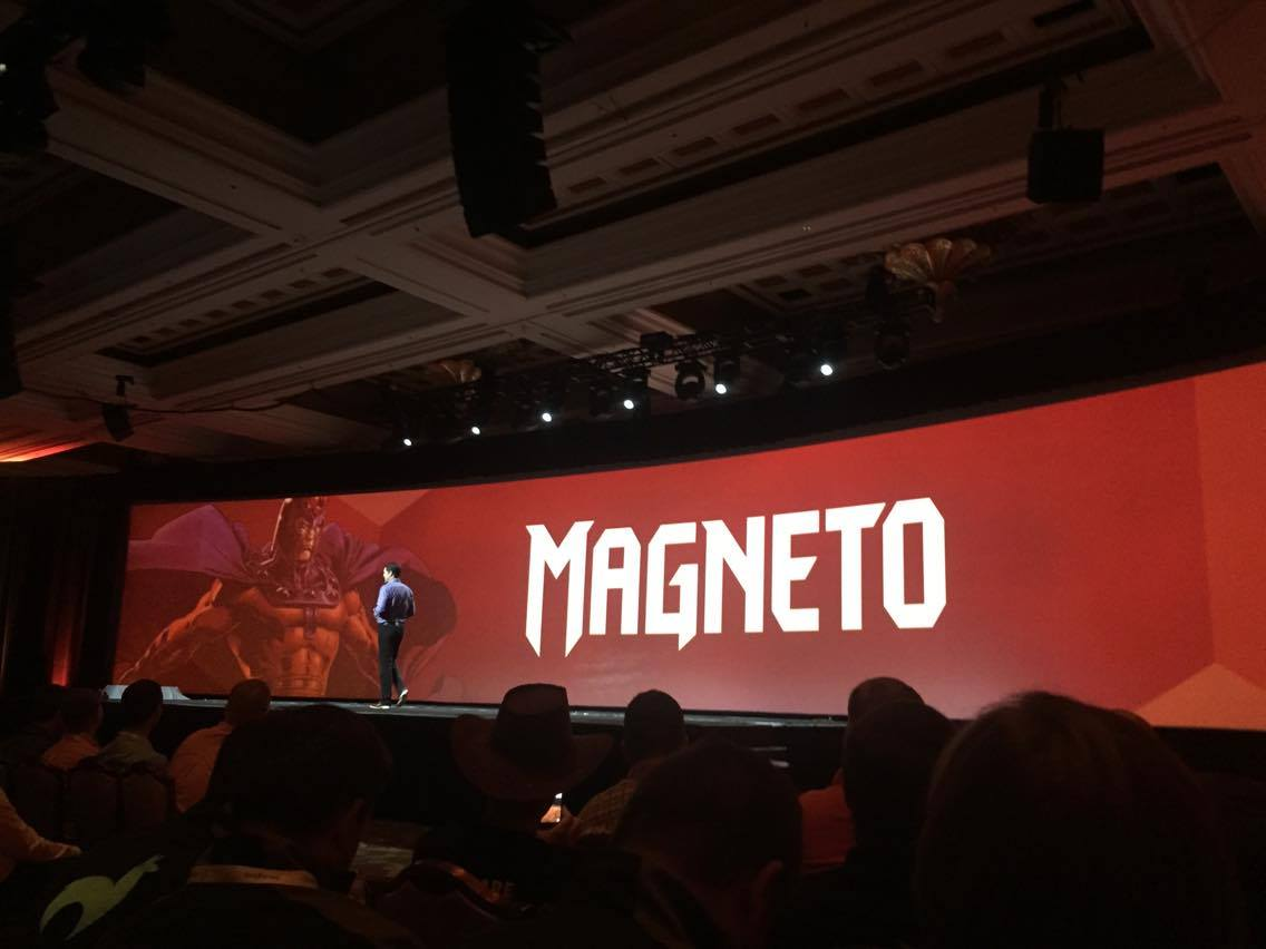vaimoglobal: Possible Magento rebranding? ;) @mklave1 #MagentoImagine #Vaimo #Imagine2016 https://t.co/Pwu8wvoY5V