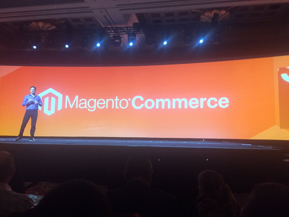 jaalcant: Magento is back! #MagentoImagine https://t.co/RoZ55Mj3hA