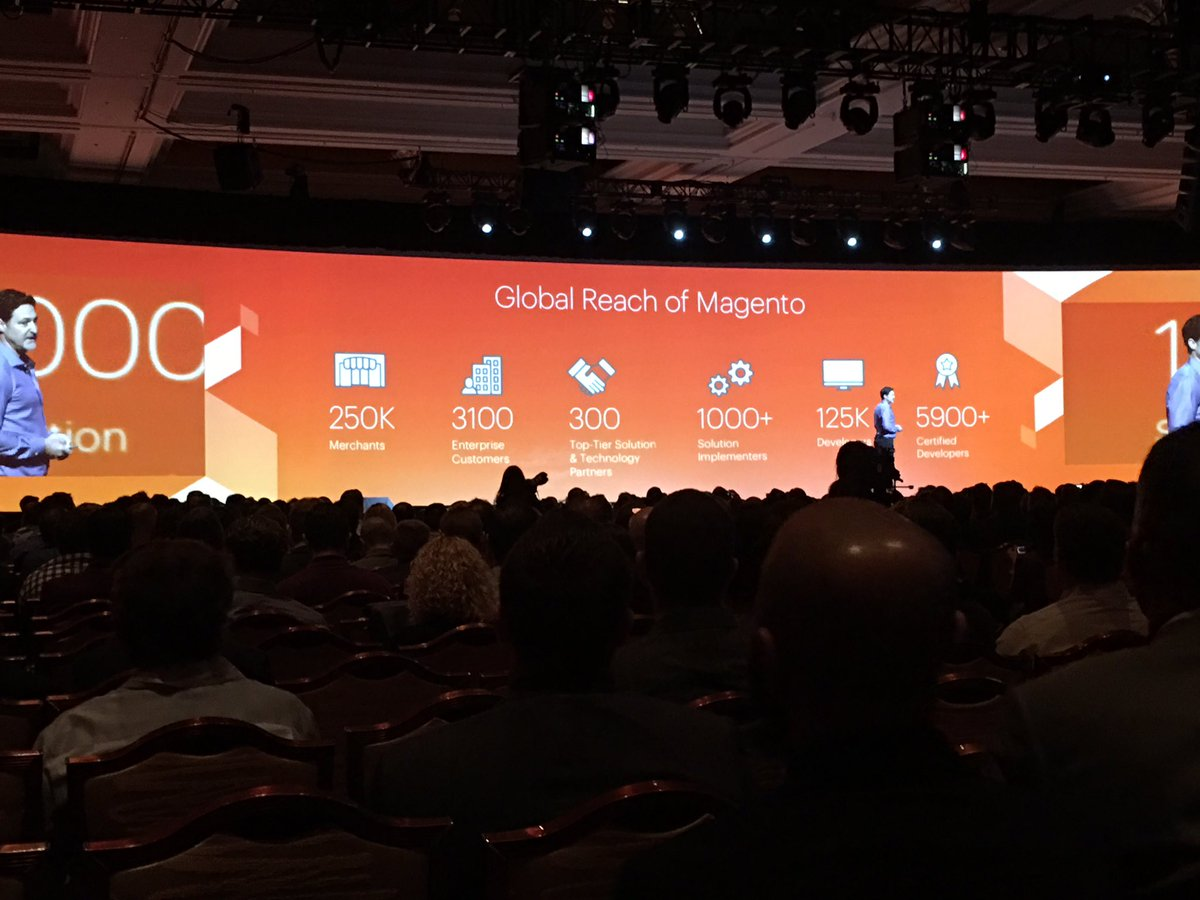 briggsbrandon: Looking @magento by the numbers - #MagentoImagine https://t.co/DSaHaLcqtk