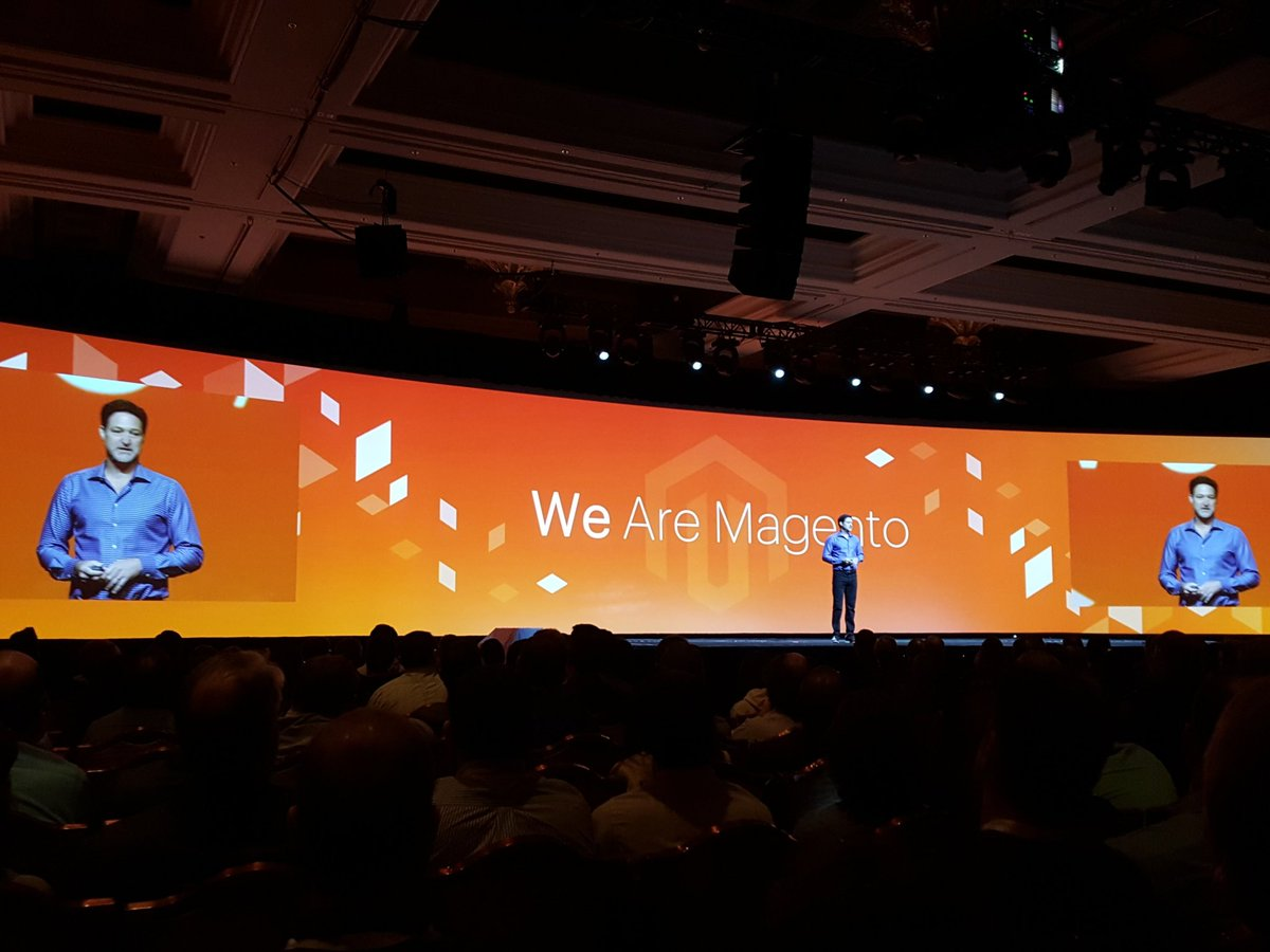 thisisnoticed: We are Magento.nnWe are Noticed.nn#MagentoImagine #Magento #noticed https://t.co/yJRKH97Ycx