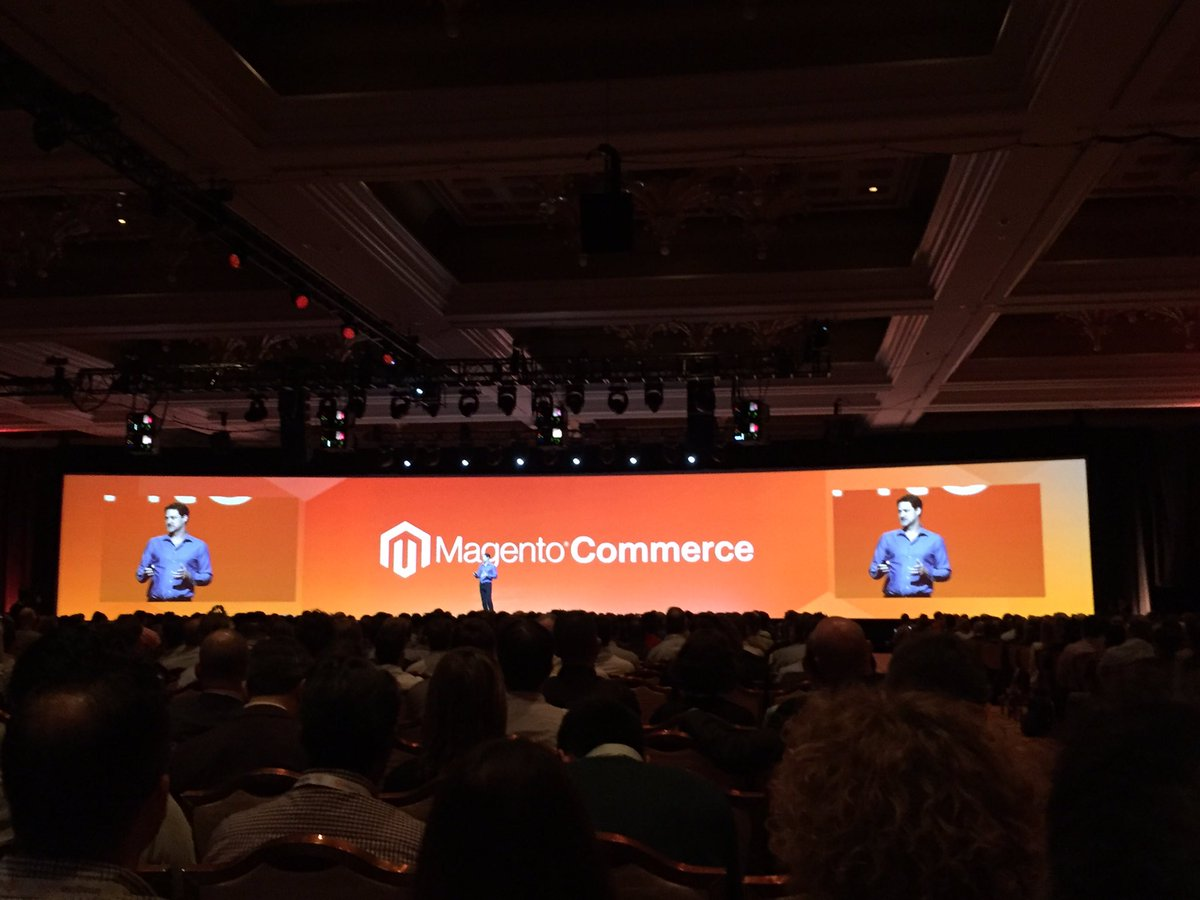 tomik99: Magento is back as an independent company. Gr8! @magento #ImagineCommerce #Imagine2016 https://t.co/cdhYfXHSjo