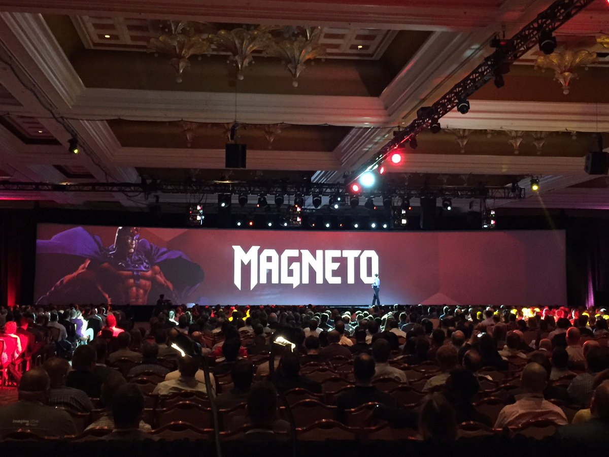 magento: Should we? Just kidding. We will always be orange. #MagentoImagine https://t.co/b0Nw61lGPs