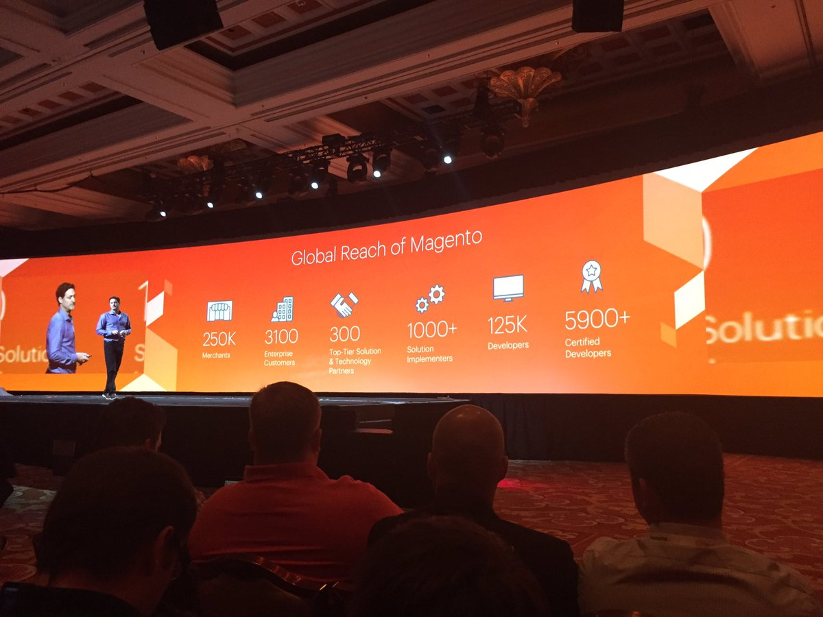 robtull: Great stats about the #RealMagento community at #MagentoImagine https://t.co/4yr2dF0uhI