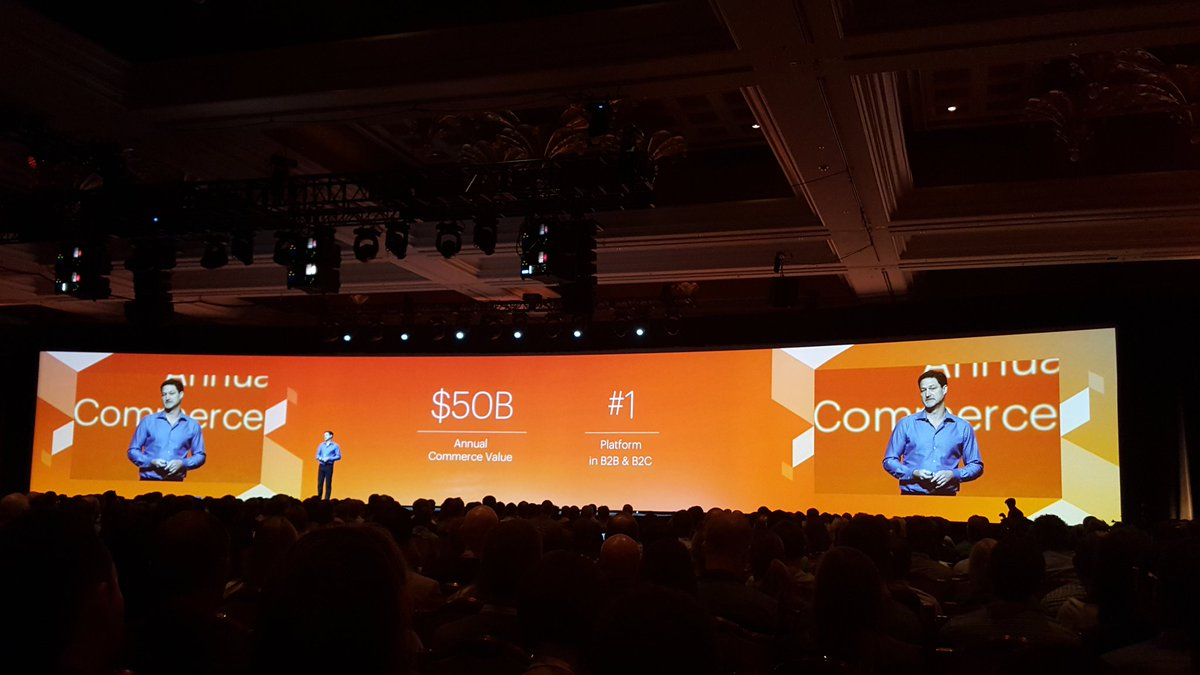 onestepcheckout: 'We are @magento and we kick ass!' 😎 #MagentoImagine #keynote https://t.co/ht0pnMrvaX