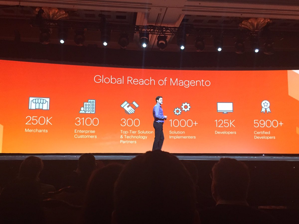 D_n_D: Global reach of Magento. #MagentoImagine #WeAreMagento https://t.co/OOUrvmqWJ1