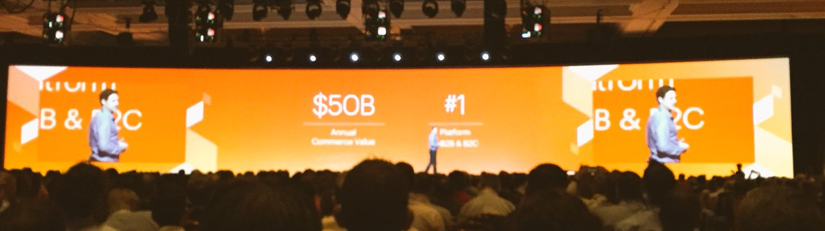 DCKAP: Magento enables over $50 billion in sales over thousands of stores within both B2B and B2C. #MagentoImagine https://t.co/YJZUz1tzcK