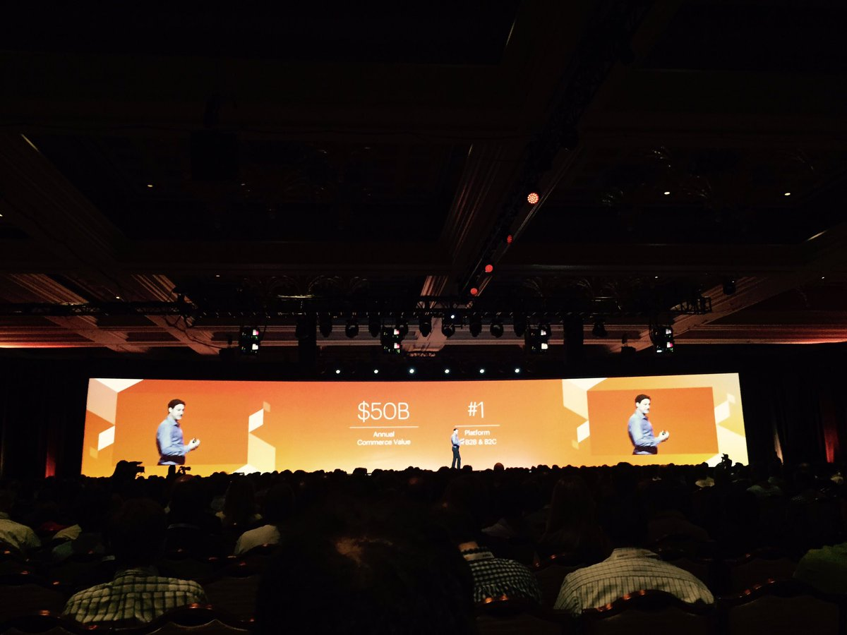 vatsalshah: #MagentoImagine great to listen Magento CEO @mklave1 sharing his views on @magento as platform & community https://t.co/t27MyM0vzt