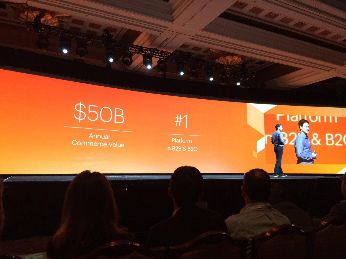 alexanderpeh: .@magento Communityn250k Merchantsn$50bn Annual Commerce ValuenNo.1 B2B & B2C #eCommerce Platformn#MagentoImagine https://t.co/NSgxei9KMX