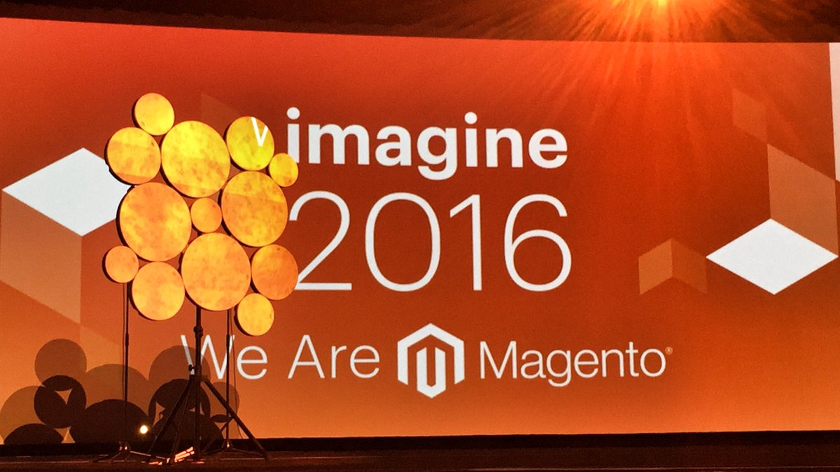 "petemcw: ""We are Magento, and we kick ass!"" #magentoimagine https://t.co/4MSDq45FHD"