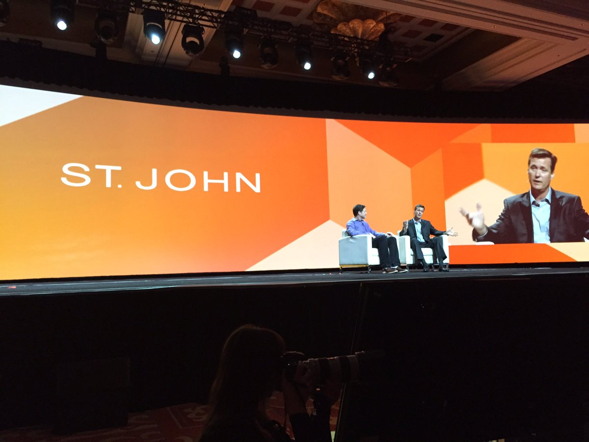 ProductPaul: 'It is not just an ECom selling site...it is our brand online' Scott from St John #MagentoImagine https://t.co/DrGAaF6XzL