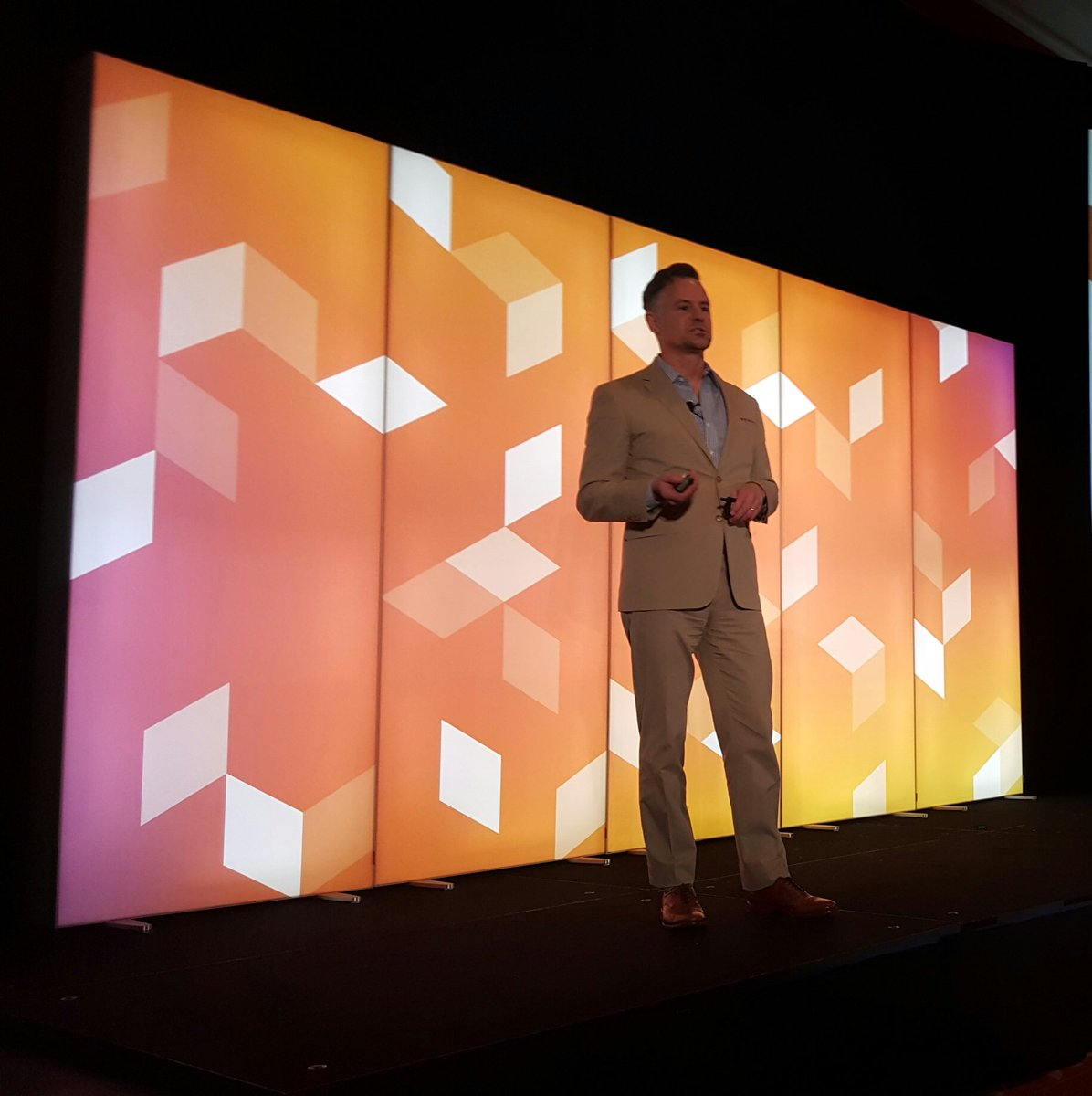 magento: Better word for omnichannel: Unified, because it's customer centric @mdharvey @GoCorra #MagentoImagine https://t.co/sAvhg5Z360