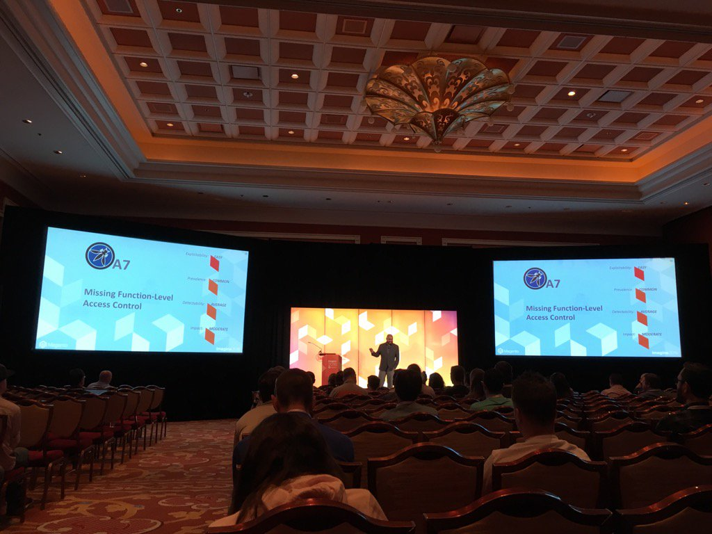 piotrekkaminski: Great security talk from @_Talesh at #MagentoImagine https://t.co/KuMIKyTLkV
