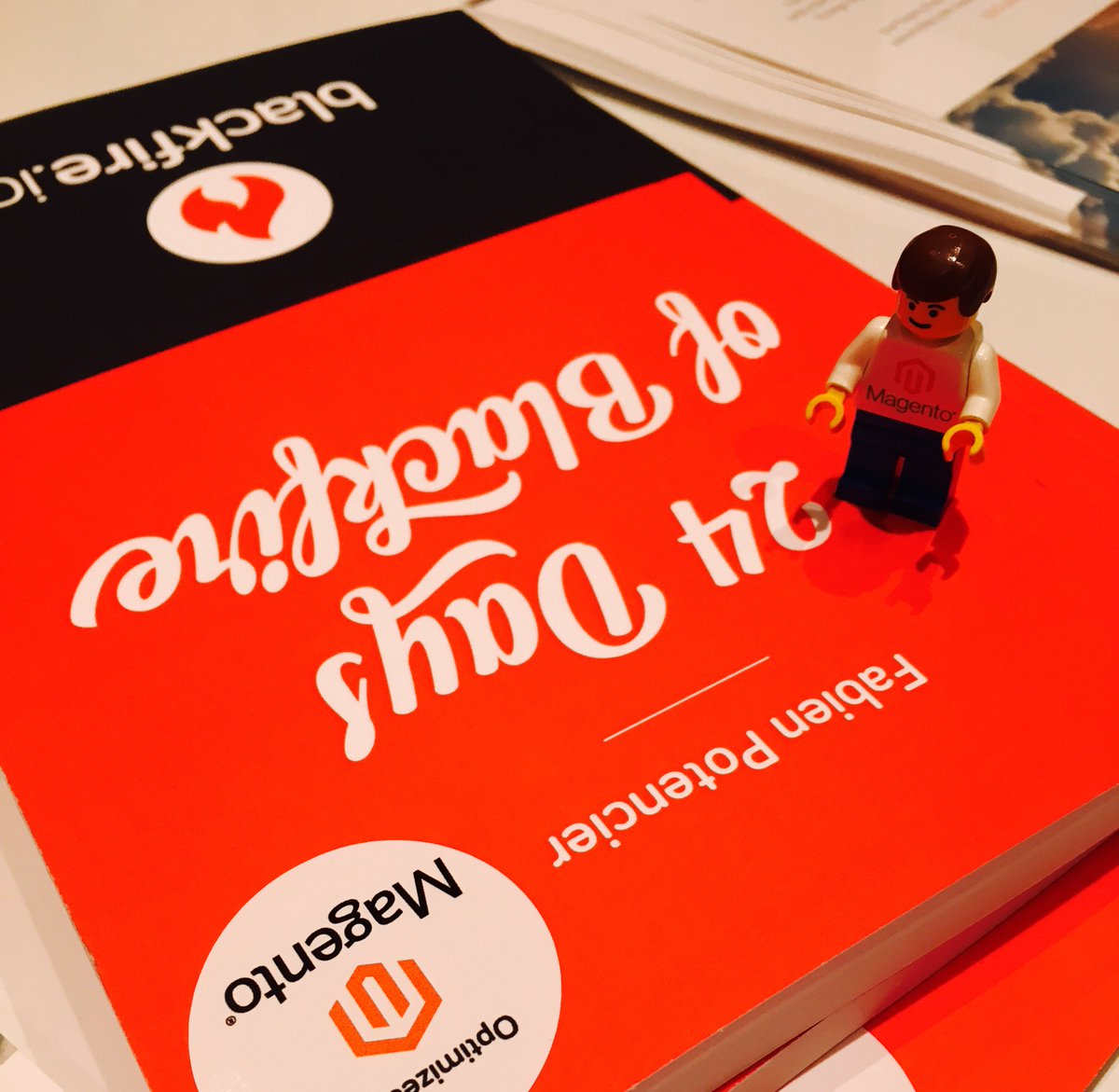 magento: This mini #Magento man needs a home. Next #Trivia Q: Where is the #MagentoCloud platform hosted? #magentoimagine https://t.co/f0KVb7fXuQ