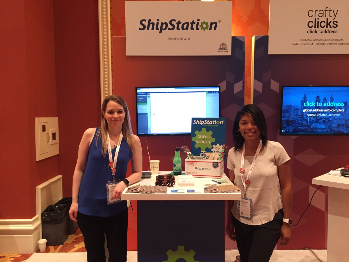 ShipStation: Hang out with us at @magento's #ImagineCommerce show! We're at booth 26 ready to talk #shippingnirvana. https://t.co/Lo6mVewD8F