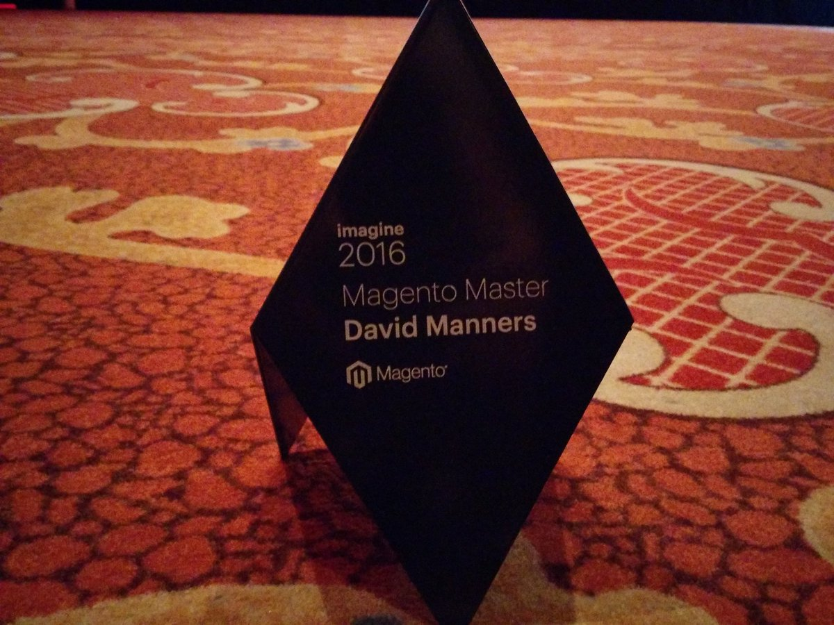 mannersd: Very cool thing. So happy for this #MagentoImagine https://t.co/94SvrjwxIw