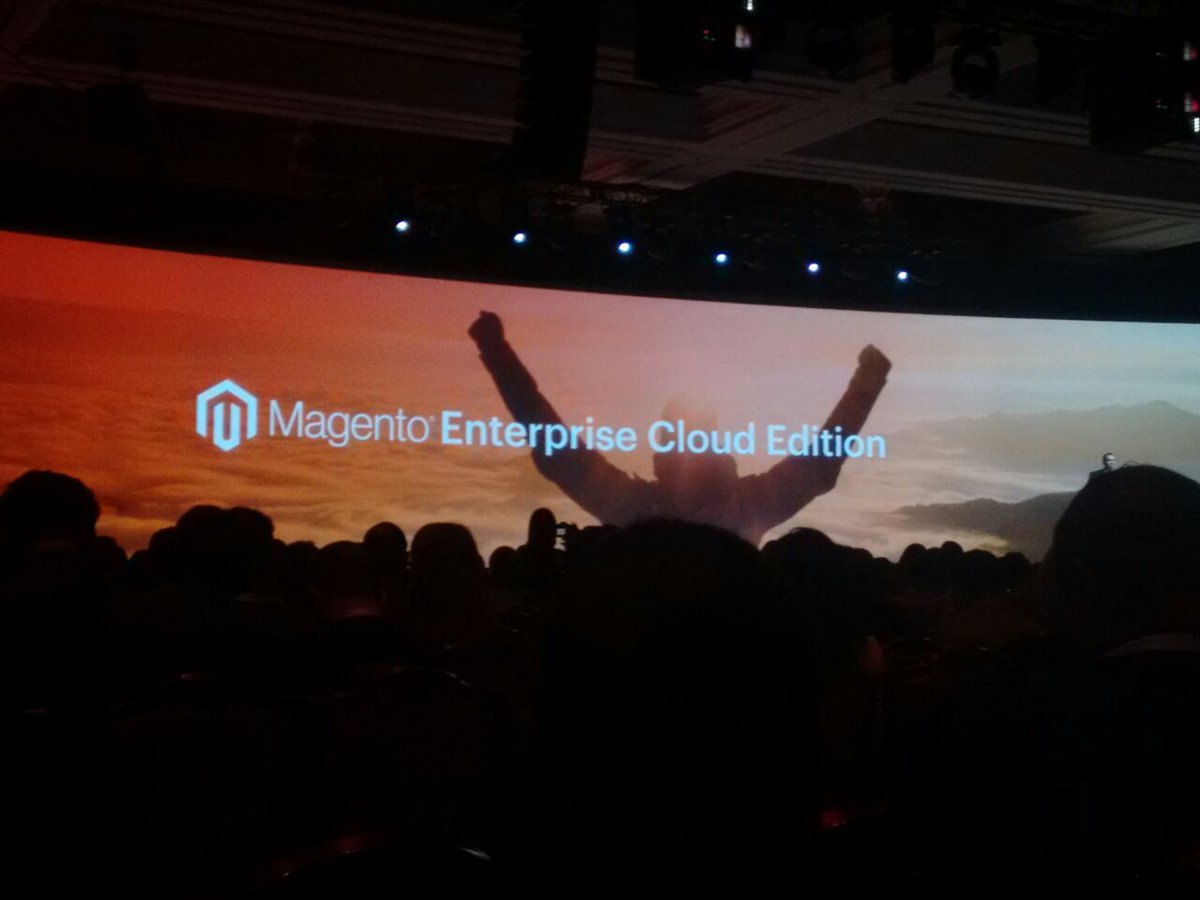 i95Dev: @magento announces #magento enterprise cloud on AWS #MagentoImagine https://t.co/h6bpwZZlei
