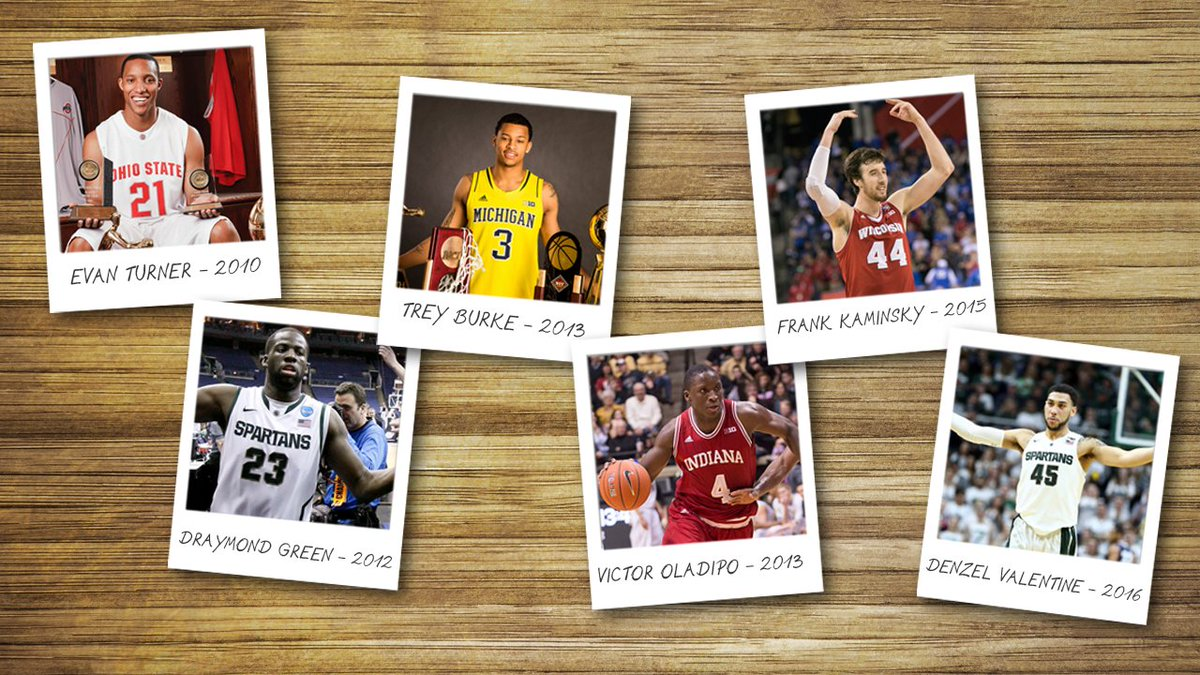 Six #B1GMBBall standouts have been named National Player of the Year in the last seven seasons. https://t.co/THqkdetDZ5