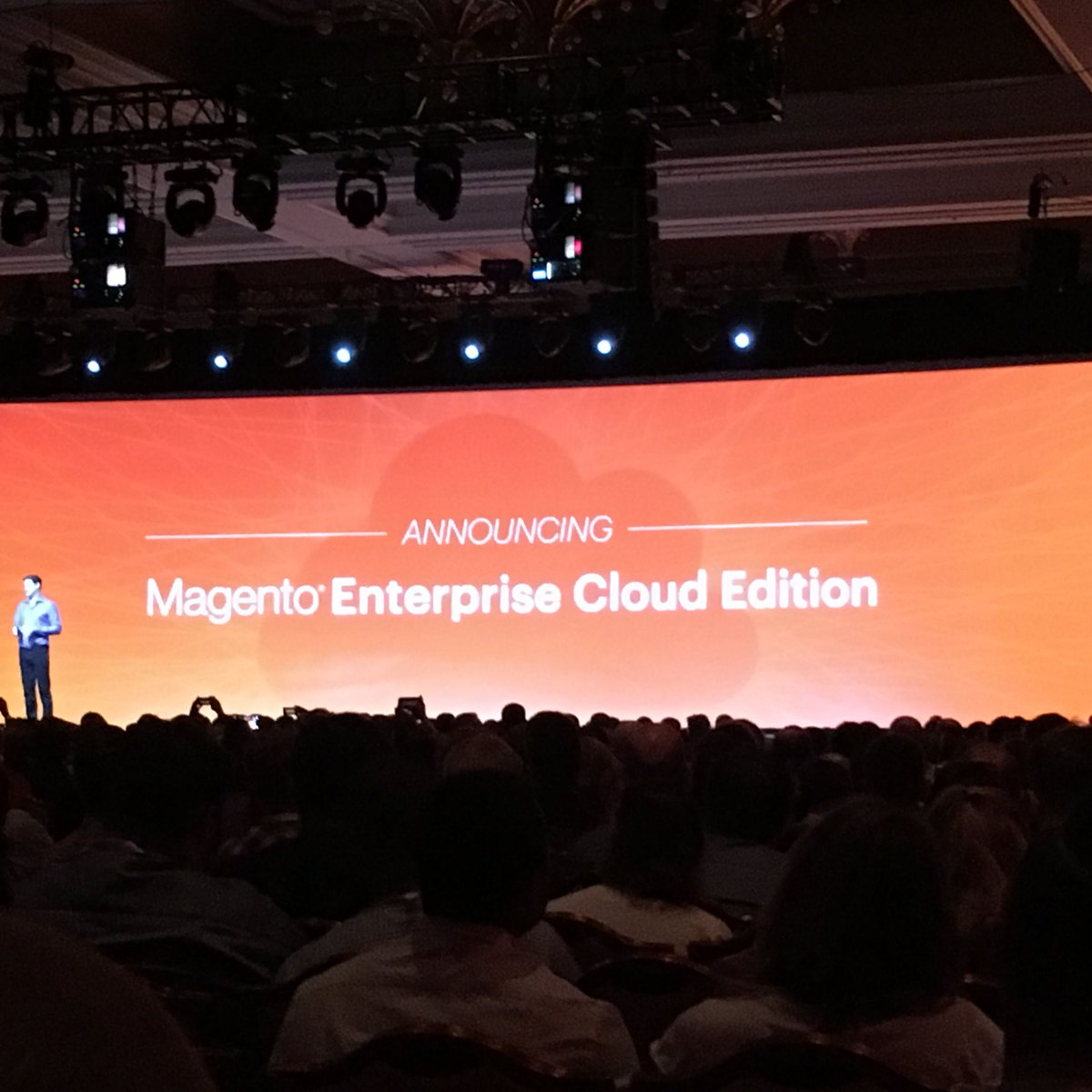 mediaspa: Magento Enterprise Cloud Edition!nnTo quote Sally: Yes, YES, YES!!nn#MagentoImagine #RealMagento @magento #ecommerce https://t.co/WvzA4lZqx4