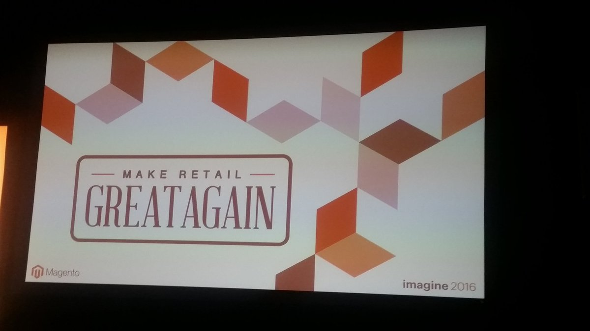 helenelefebvre: Break out sessions to get started #MagentoImagine https://t.co/DLvxR1LZIh