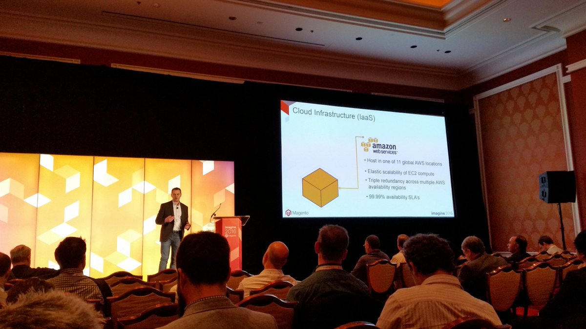 rlieser: Getting some details about the Magento Enterprise Cloud Edition at #MagentoImagine https://t.co/PewoS2qS9A