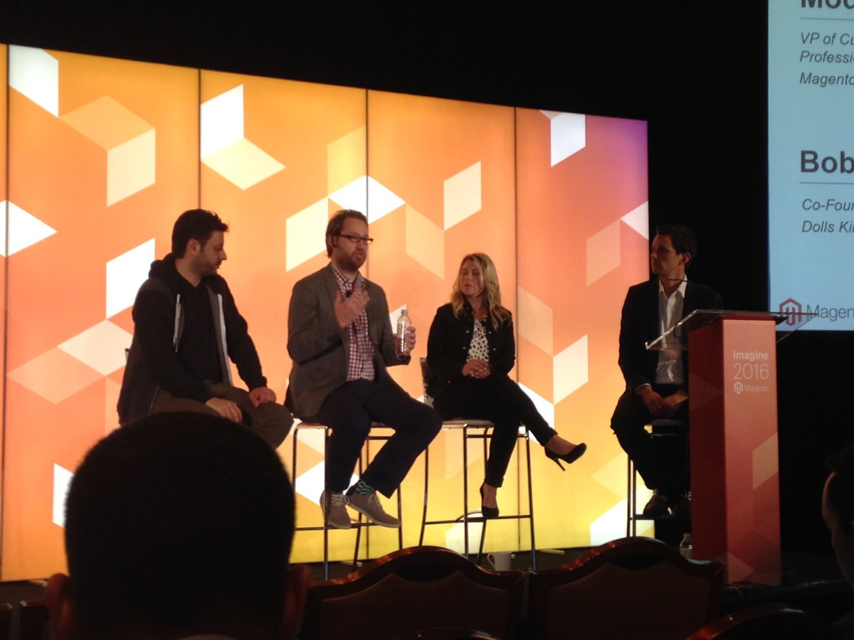 SheroDesigns: Designing unique customer experiences. Especially on mobile #MagentoImagine https://t.co/ZntLC01L5P