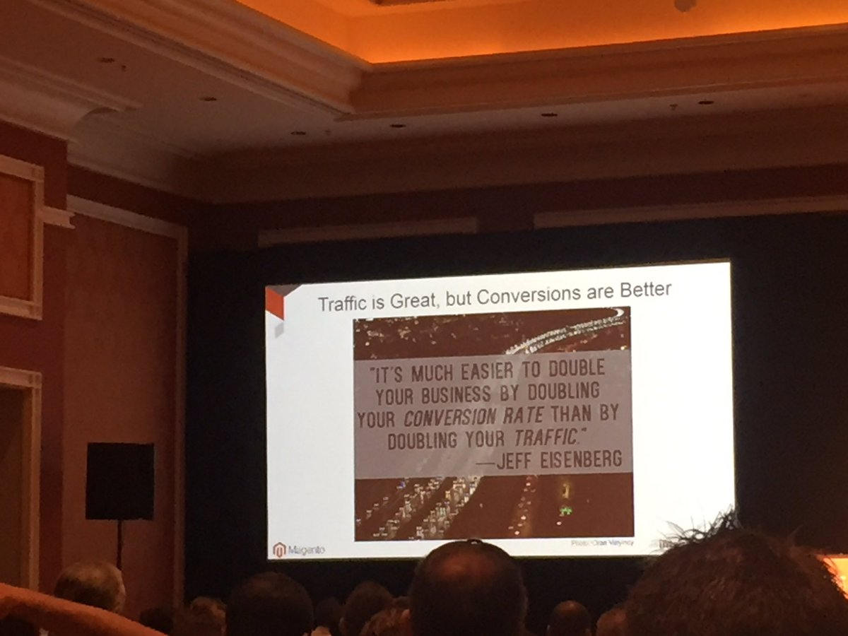 vaimoglobal: 'Traffic is great, but conversions are better' - DIY SEO #MagentoImagine #Vaimo https://t.co/ynYPNtgpdn
