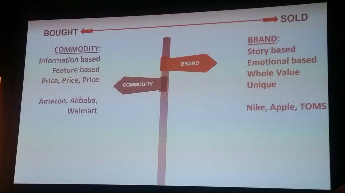 helenelefebvre: Differences between commodity and brand #MagentoImagine https://t.co/wxBGhuG75e