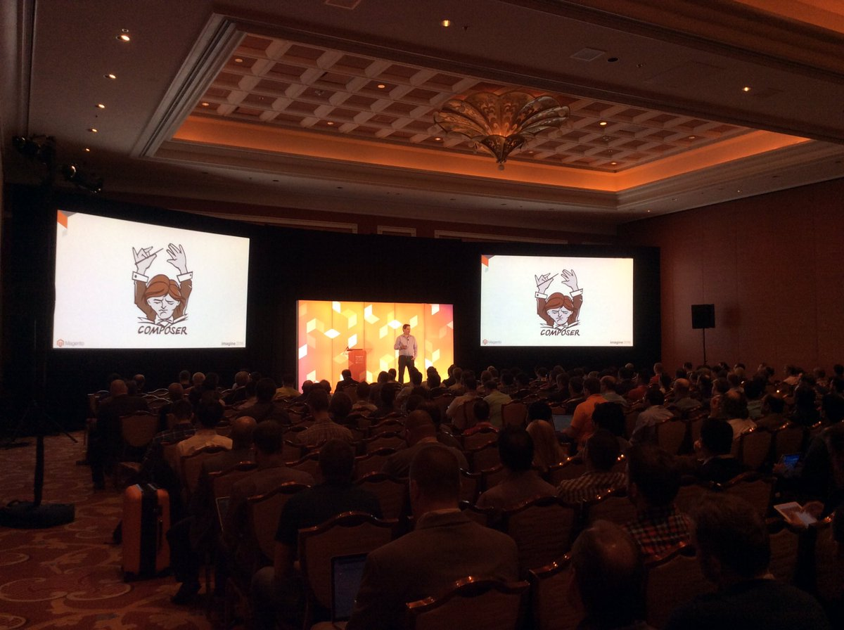 magento: #Magento Doug McIver sharing insights on Magento Enterprise Cloud Edition #magentocloud #MagentoImagine https://t.co/fLZj389swA