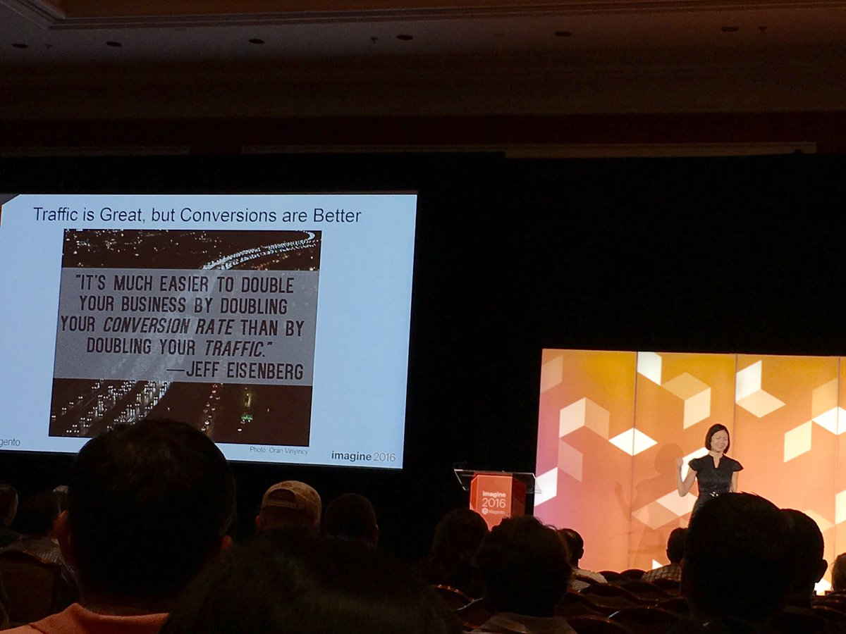 pixafy: What are your conversion goals? DIY SEO tips and tricks with TEDx speaker @luckygirliegirl #MagentoImagine https://t.co/4a3kGwXTZk