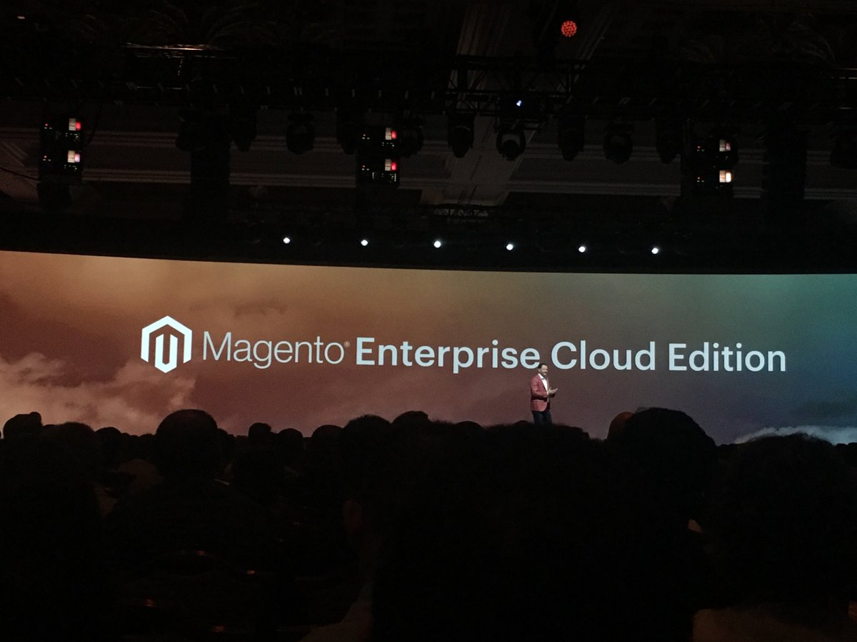 signifyd: Congrats @Magento on the announcement of Magento Enterprise Cloud--very excited for the future! #MagentoImagine https://t.co/Gd6QU03Lcn
