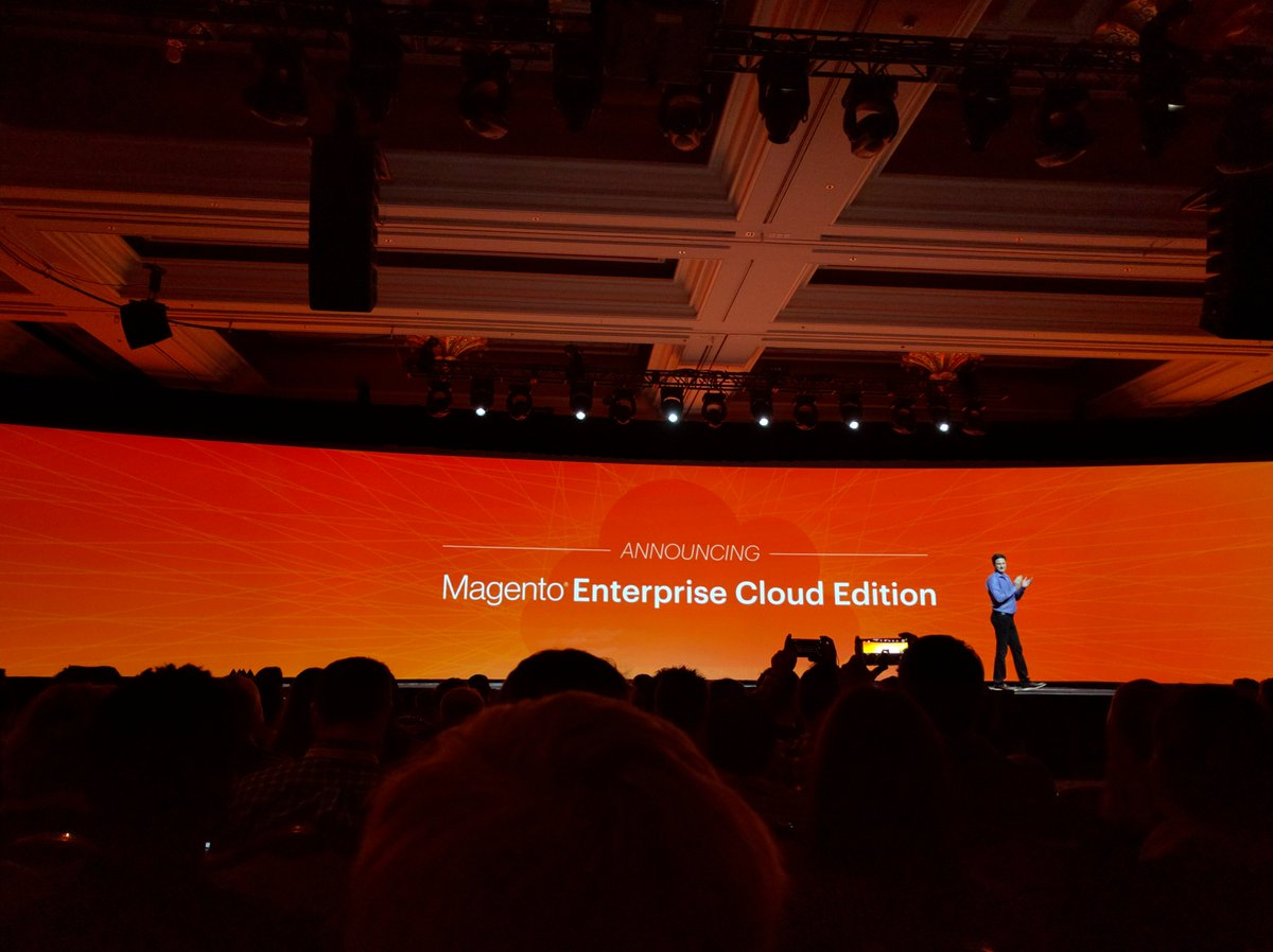 GorillaCommerce: @magento announces Enterprise Cloud Edition at #MagentoImagine https://t.co/9qHvVDrNhB