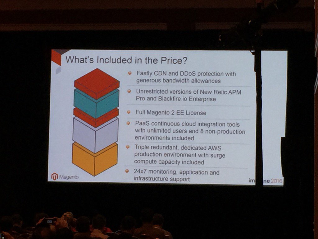 magento_rich: What comes with@magento Cloud. #MagentoImagine https://t.co/21NPddgi6Z